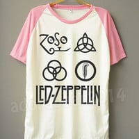 Led Zeppelin T-Shirt Hard Rock Shirt Led Zeppelin Shirt Short Sleeve T-Shirt Short Baseball Shirt Unisex T-Shirt Women T-Shirt Men T-Shirt