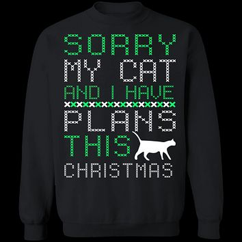 Cat Plans For Christmas T-Shirt