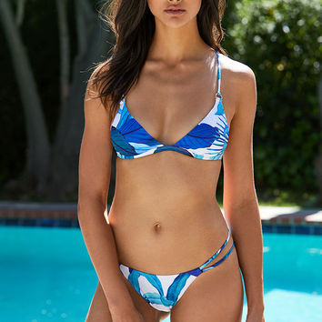 LA Hearts Basic Fixed Triangle Bikini Top at PacSun.com
