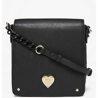 LYDC Heart Cross Body Bag