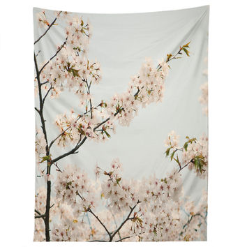 Catherine McDonald Cherry Blossoms In Seoul Tapestry