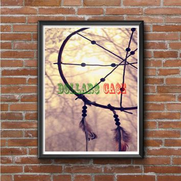 Dream Catcher At The Sea Side Photo Poster
