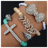 Bella Beauty Bracelet Set- Tanya Kara Jewelry
