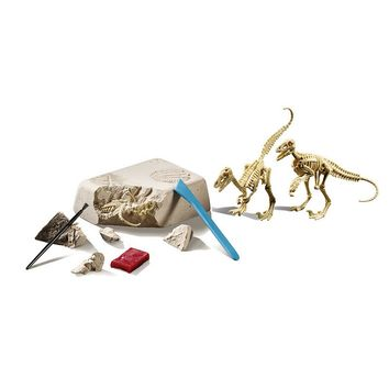 Educational Insights GeoSafari Dino Dig Velociraptors Set
