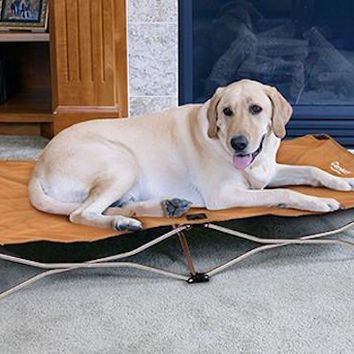 Portable Pup Pet Bed Large - Tan