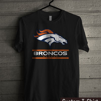 Denver Broncos Logo -tr3 Unisex T- Shirt For Man And Woman / T-Shirt / Custom T-Shirt