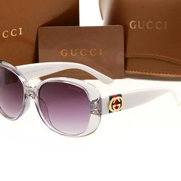 Gucci sunglass AA Classic Aviator Sunglasses, Polarized, 100% UV protection 2974244978 GG3660