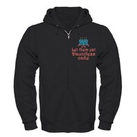 Let them eat Dauntless cake Zip Hoodie on CafePress.com