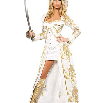 Deluxe Pirate Queen Costume | Sexy Clothes Womens Sexy Dresses Sexy Clubwear Sexy Swimwear | Flirt Catalog