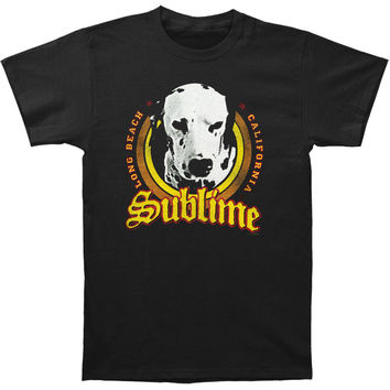 Sublime Men's  Lou Dog T-shirt Black Rockabilia