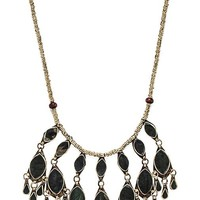 Natalie B Jewelry Dara Necklace in Metallic Gold