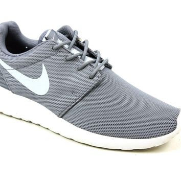 MENS NIKE ROSHE RUN GREY CASUAL OUTDOOR RUNNING SHOES SPORTS GYM TRAINERS SIZE 7