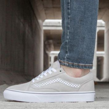 One-nice™ Vans Classics Old Skool Pink/Light Grey Sneaker