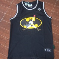 Michael Jordan 23 Flightman Jersey Batman Jersey Basketball Jersey