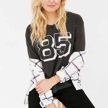 Truly Madly Deeply Crackled Numbers Tee