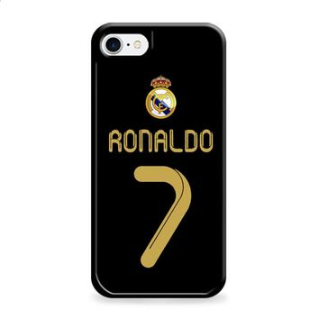 Real Madrid Ronaldo CR7 Jersey iPhone 6 Plus | iPhone 6S Plus case