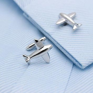 Airplane Model Cufflinks