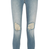 BLK DNM | New 26 distressed low-rise skinny jeans | NET-A-PORTER.COM