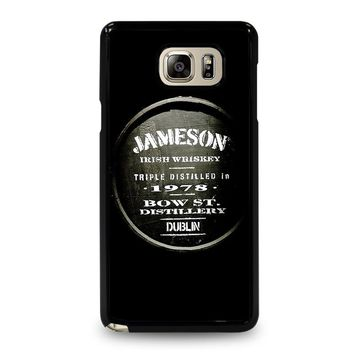 JAMESON WHISKEY Samsung Galaxy Note 5 Case Cover