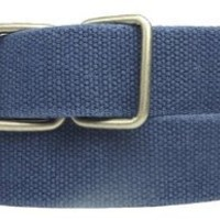 New Mens Womens Blue Green Trendy Canvas Polo Belt $14.95
