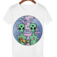 Aliens & Their Cat :3 Shirt