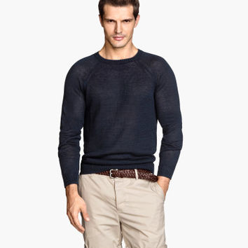 H&M Linen Sweater $12.99