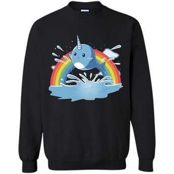 narwhal and rainbow-lovely unicorn