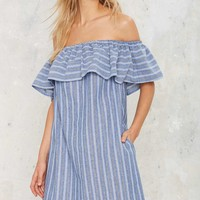 Tulum Off-the-Shoulder Mini Dress