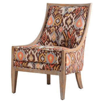 Ayala Ikat Accent Chair, Accent & Occasional Chairs