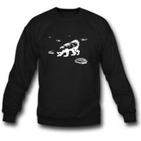 Honey Badger Zilla SWEATSHIRT CREWNECK