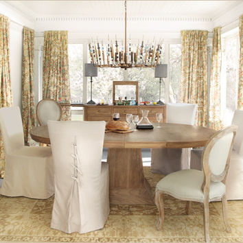 Leighton Weathered Dining Table Arhaus From