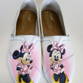 Minnie Mouse Toms Shoes