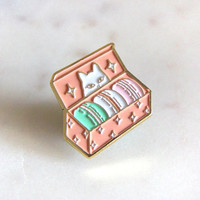Secret Treats Enamel Pin