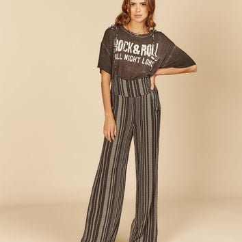 Striped Overall Jumper
