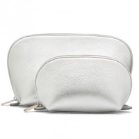 Shimmer Travel Case Set - Silver | Cuyana Shop