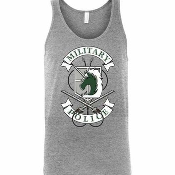 Military Police Unisex Tank Top