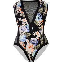 Volcom Part Of Me One-Piece Swimsuit - Women's Multi,