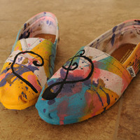 Custom Hand Painted Shoes - Low Difficulty Level
