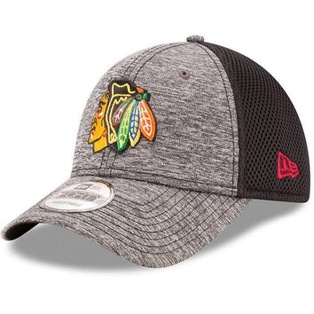 Chicago Blackhawks Shadow Turn 9Forty Adjustable Hat By New Era