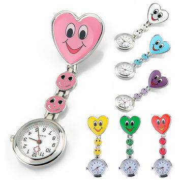 Nurse Pocket Watch With A Smile