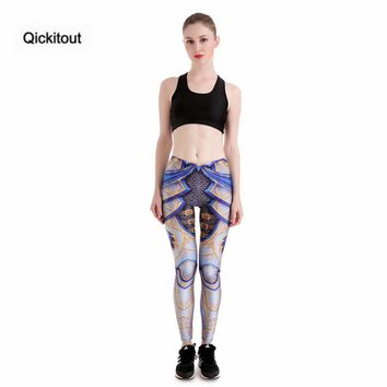 Women's Armor Digital Print Ankle Length Leggings