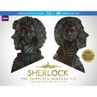 Sherlock: The Complete Seasons 1-3 [Limited Edition] [14 Discs] [Blu-ray/DVD]