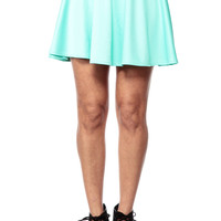 Light Green Circus Skirt