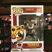 2016 Funko POP! Disney Movies Kung Fu Panda TIGRESS #251 Vinyl Figure MIB