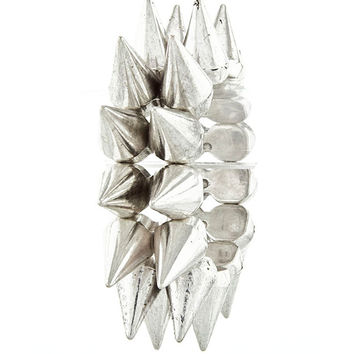 Antique Silver Spike Bracelet