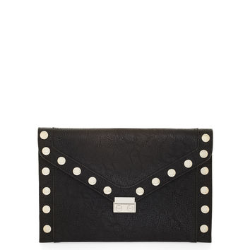 STUDDED CLUTCH in Black - BCBGeneration