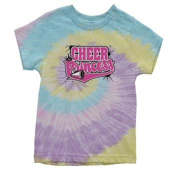 Cheer Princess Youth Tie-Dye T-shirt