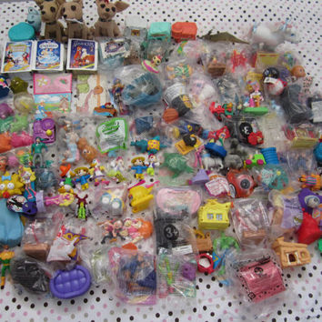 HUGE McDonald's toy lot, happy meal, some MIP, girls and boys, over 130