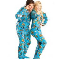 Star Wars Good Guys Adult Footed Pajamas