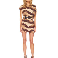 Michael Kors Collection Languid Tie Dye Cover Up Dress